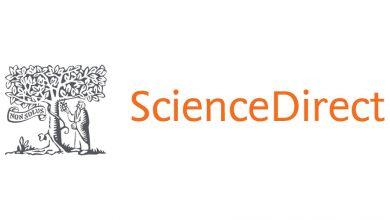 تصویر از نحوه دانلود رایگان مقاله از سایت ساینس دایرکت (science direct)