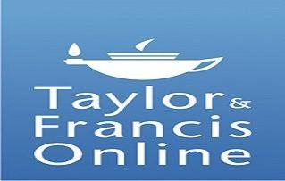 تصویر از راهنمای پایگاه Taylor & Francis Online