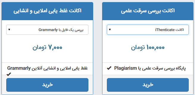 Photo of راهنمای بررسی فایل شما با iThenticate و Grammarly