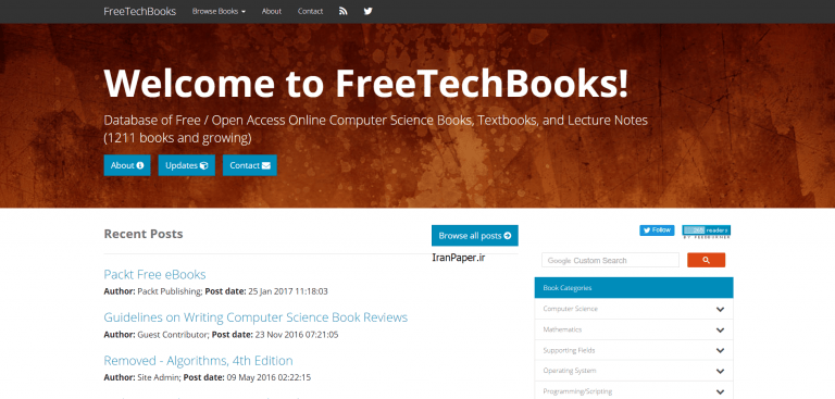 freetechbooks دانلود رایگان کتاب خارجی
