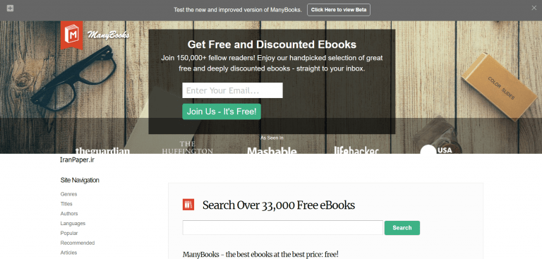 manybooks دانلود رایگان کتاب خارجی