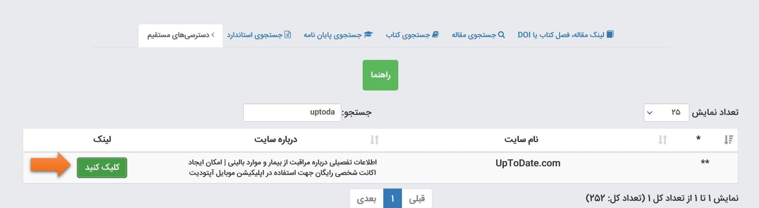 دسترسی به آپتودیت از طریق ایران پیپر