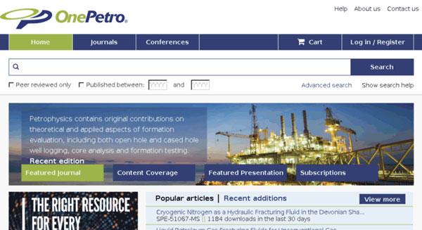 تصویر از معرفی OnePetroو راهنمای استفاده از این پایگاه اطلاعاتی OnePetro