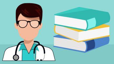 تصویر از فروش کتاب پزشکی